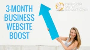 3-MONTH BUSINESS WEBSITE BOOST