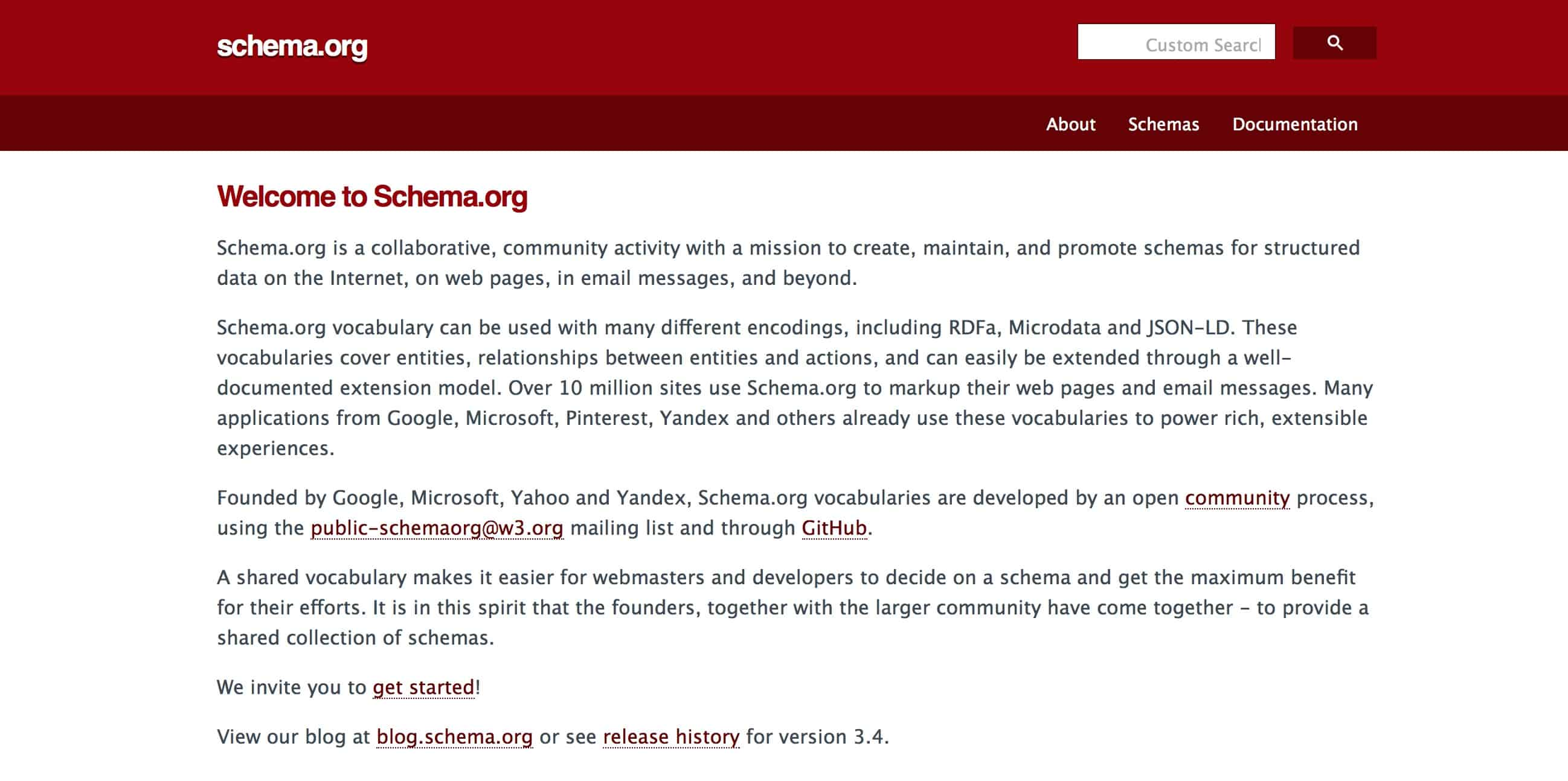 picture of schema.org