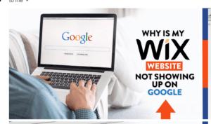 Why Wix wesbites dont rank on Google
