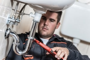 Plumber marketing image